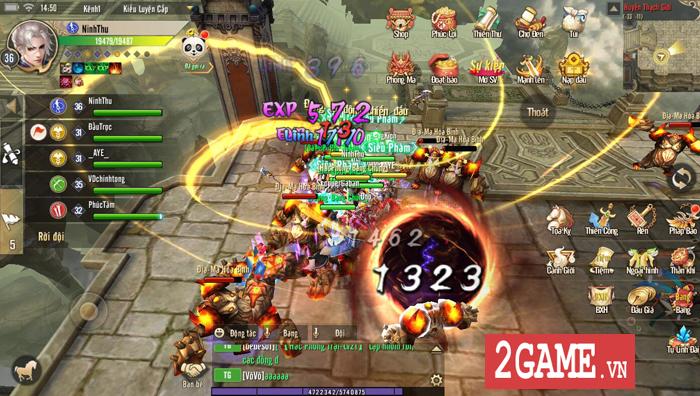 Thục Sơn Kỳ Hiệp Mobile phô diễn lối chơi cày cuốc chuyên sâu đúng chất game PC 6