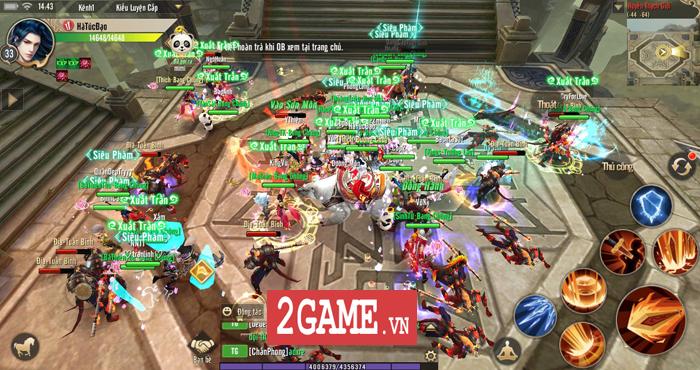 Thục Sơn Kỳ Hiệp Mobile phô diễn lối chơi cày cuốc chuyên sâu đúng chất game PC 7