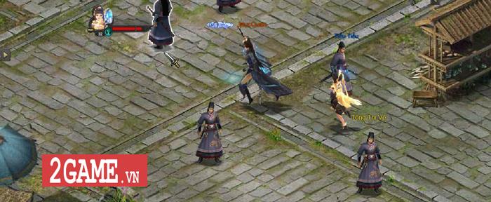 Có một thế giới võ lâm bình dị trong webgame Kiếm Định Thiên Hạ 6