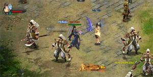 Có một thế giới võ lâm bình dị trong webgame Kiếm Định Thiên Hạ