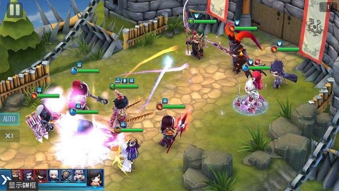 Dòng người tấp nập thượng đài đấu tướng trong ngày Thần Long 3Q Mobile ra mắt 5