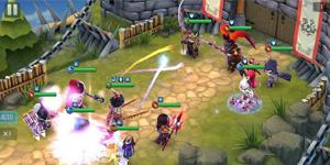 Dòng người tấp nập thượng đài đấu tướng trong ngày Thần Long 3Q Mobile ra mắt