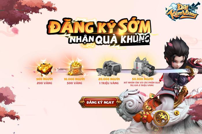 Game nhập vai Đại Kiếm Vương Mobile ấn định thời điểm ra mắt tại Việt Nam 3
