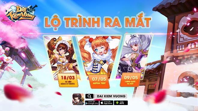 Game nhập vai Đại Kiếm Vương Mobile ấn định thời điểm ra mắt tại Việt Nam 0