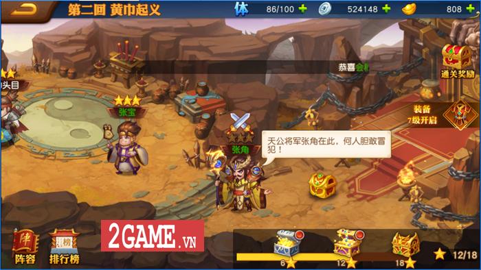 Game đấu tướng chiêu cực chất mang tên Danh Tướng 3Q VNG cập bến Việt Nam 7