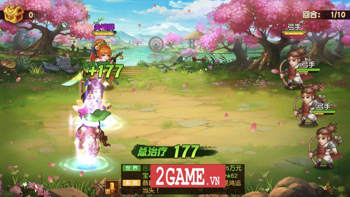 Game đấu tướng chiêu cực chất mang tên Danh Tướng 3Q VNG cập bến Việt Nam 4