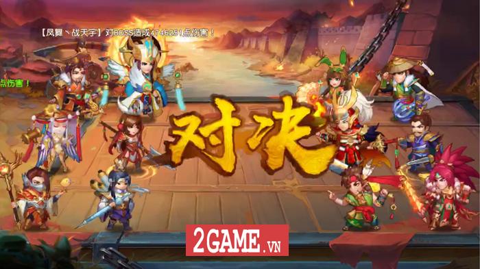 Game đấu tướng chiêu cực chất mang tên Danh Tướng 3Q VNG cập bến Việt Nam 8