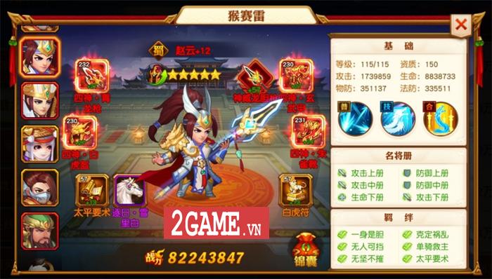 Game đấu tướng chiêu cực chất mang tên Danh Tướng 3Q VNG cập bến Việt Nam 6