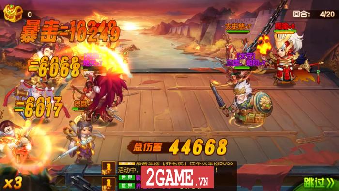 Game đấu tướng chiêu cực chất mang tên Danh Tướng 3Q VNG cập bến Việt Nam 5