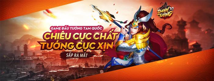 Game đấu tướng chiêu cực chất mang tên Danh Tướng 3Q VNG cập bến Việt Nam 0