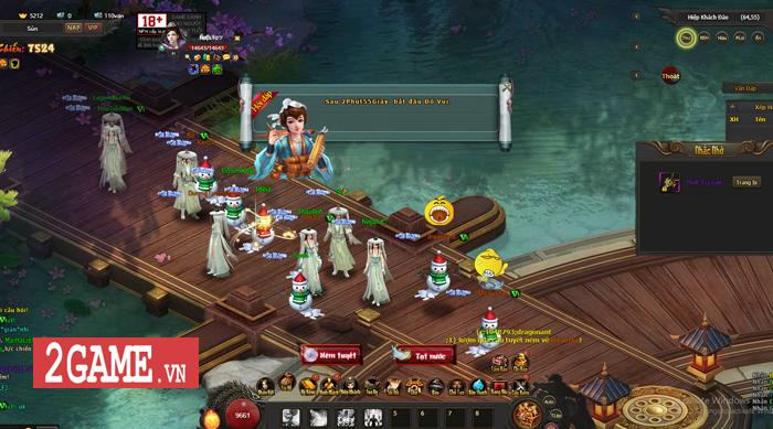 Cảm thụ webgame Kiếm Định Thiên Hạ: Đậm đà hương vị kiếm hiệp Kim Dung 2