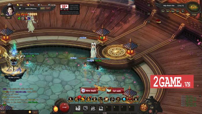 Cảm thụ webgame Kiếm Định Thiên Hạ: Đậm đà hương vị kiếm hiệp Kim Dung 3