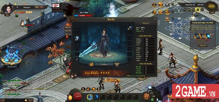 Cảm thụ webgame Kiếm Định Thiên Hạ: Đậm đà hương vị kiếm hiệp Kim Dung 6