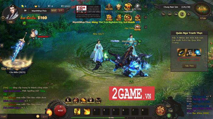 Cảm thụ webgame Kiếm Định Thiên Hạ: Đậm đà hương vị kiếm hiệp Kim Dung 5
