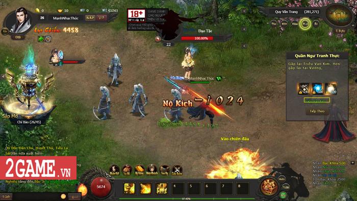 Cảm thụ webgame Kiếm Định Thiên Hạ: Đậm đà hương vị kiếm hiệp Kim Dung 4