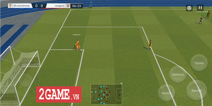 Champion of the Field - Game bóng đá toàn cầu mới ra lò của NetEase 1