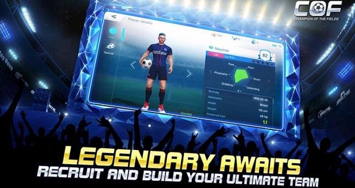 Champion of the Field - Game bóng đá toàn cầu mới ra lò của NetEase 3