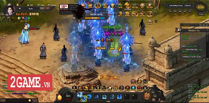 Webgame Kiếm Định Thiên Hạ tái hiện lối chơi game nhập vai kiếm hiệp kinh điển khi xưa 4