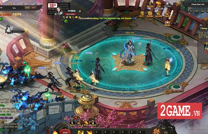 Webgame Kiếm Định Thiên Hạ tái hiện lối chơi game nhập vai kiếm hiệp kinh điển khi xưa 0