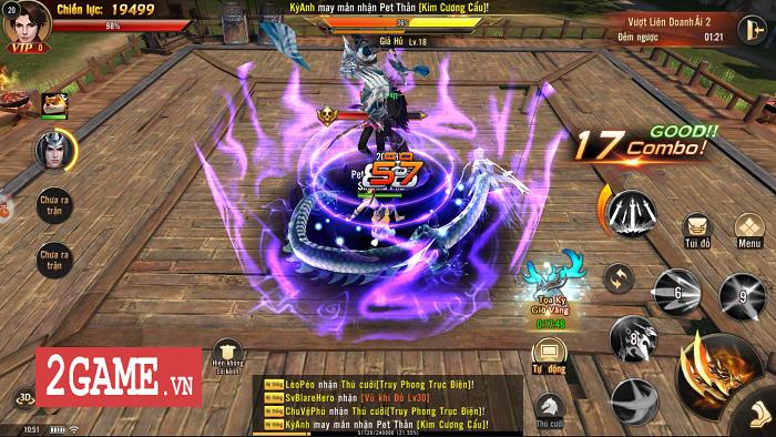 Cảm nhận Đao Kiếm Vô Song Mobile: Lối chơi nhập vai hành động phóng khoáng 2