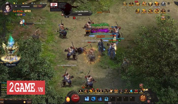 Webgame Kiếm Định Thiên Hạ cho người chơi nối chiêu chiến đấu đậm tính diễn võ tranh tài 4