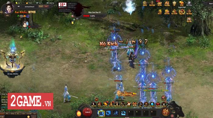 Webgame Kiếm Định Thiên Hạ cho người chơi nối chiêu chiến đấu đậm tính diễn võ tranh tài 3