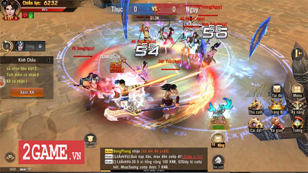 Đao Kiếm Vô Song Mobile game hành động không giới hạn môn phái, cho dùng 2 vũ khí khi chiến đấu