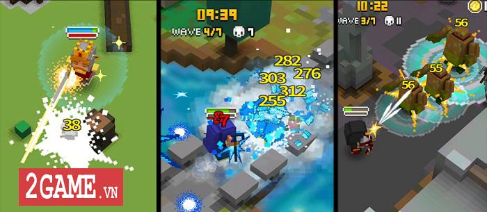 Pixel Knights - Game sinh tồn được thiết kế theo phong cách pixel vui nhộn 2