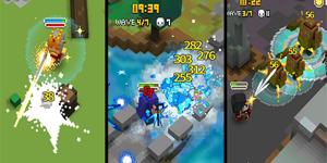 Pixel Knights – Game sinh tồn được thiết kế theo phong cách pixel vui nhộn