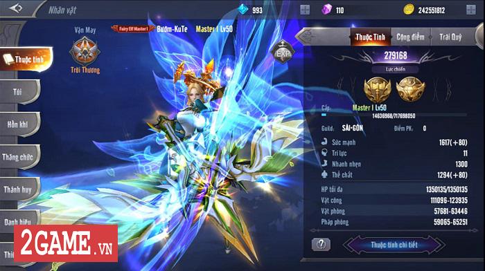 Cao thủ MU Awaken VNG khoe set trang bị cấp 14 siêu đẹp siêu ngầu 2