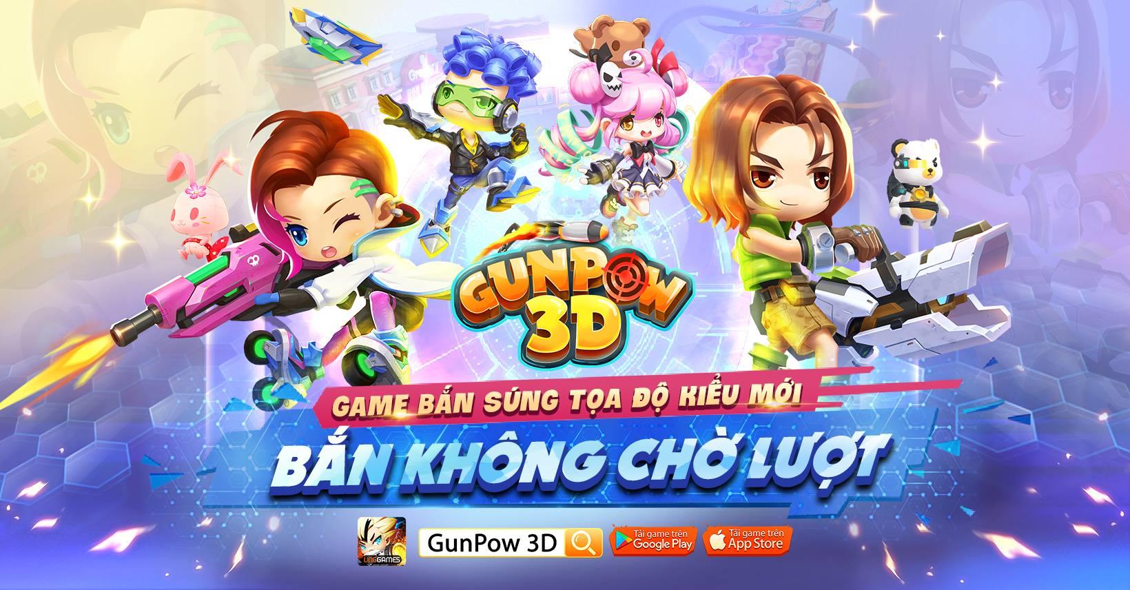 Game bắn tọa độ kết hợp chất chơi MOBA mang tên GunPow 3D về Việt nam 0