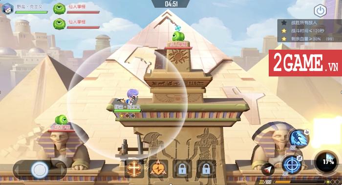 Game bắn tọa độ kết hợp chất chơi MOBA mang tên GunPow 3D về Việt nam 1