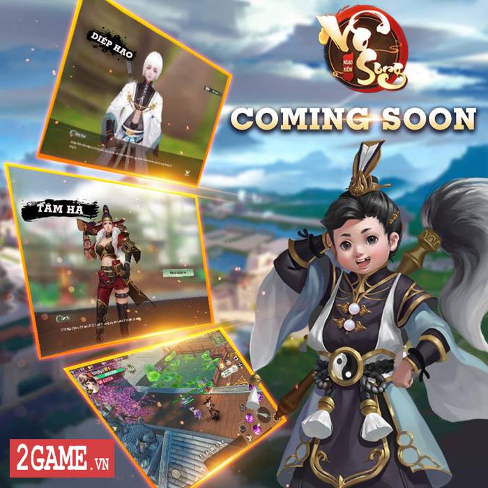 Thêm tựa game nhập vai đậm vị kiếm hiệp Ngạo Kiếm Vô Song Mobile cập bến Việt Nam 2