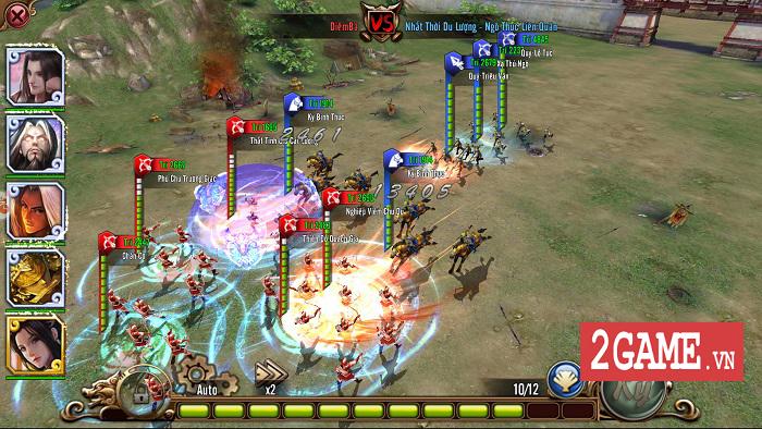 Chân Tam Quốc Mobile chính là game điều binh khiển tướng, đấu trí căng não bậc nhất 1