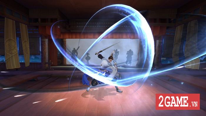 Ngạo Kiếm Vô Song Mobile cho phép người chơi dùng tới 10 kỹ năng khi PK 4