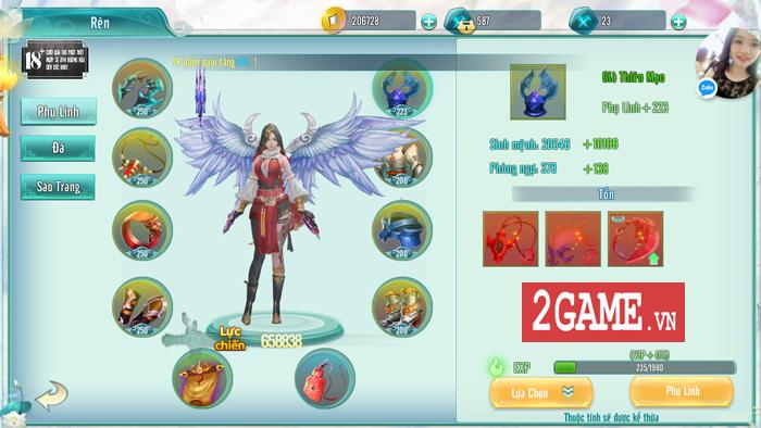 Những gia vị tiên hiệp đặc sệt của game Tam Sinh Kiếp Mobile 1