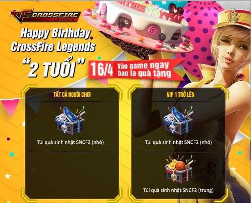 Crossfire Legends khai mở vô số sự kiện hot cùng nhiều quà tặng 2