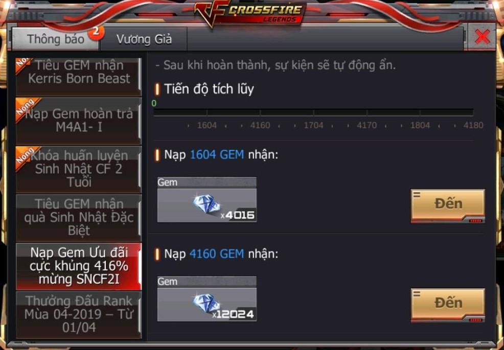 Crossfire Legends khai mở vô số sự kiện hot cùng nhiều quà tặng 6