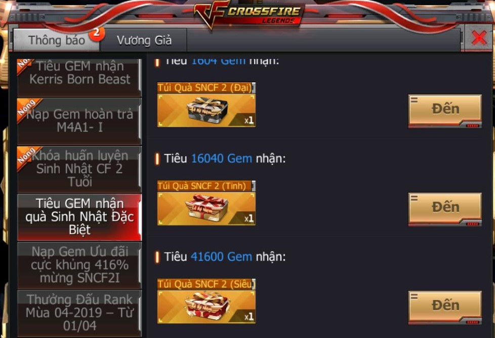 Crossfire Legends khai mở vô số sự kiện hot cùng nhiều quà tặng 7