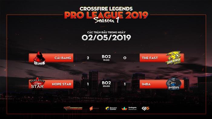 Giải đấu CrossFire Legends Pro League trở lại sau kì nghỉ lễ với những trận đấu khốc liệt 0