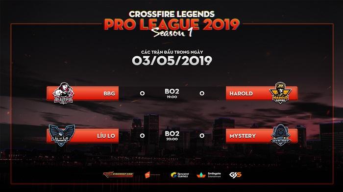 Giải đấu CrossFire Legends Pro League trở lại sau kì nghỉ lễ với những trận đấu khốc liệt 1