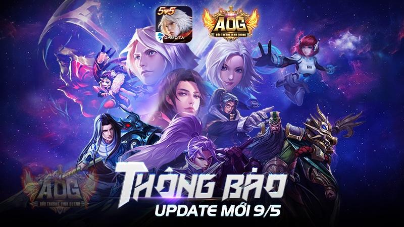 Ngày mai AOG Đấu Trường Vinh Quang sẽ tung bản Big Update đầu tiên 3