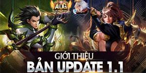 Ngày mai AOG Đấu Trường Vinh Quang sẽ tung bản Big Update đầu tiên