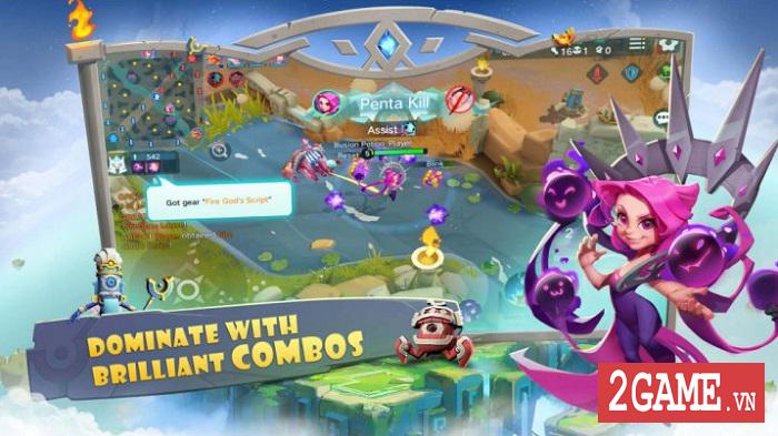 Vagary - Game MOBA cho di động áp dụng hình thức nhặt trang bị ngay trong trận đấu 1