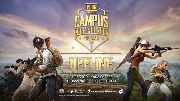 PUBG Mobile Việt Nam đẩy mạnh giải đấu cộng đồng với sự kiện offline sinh viên 3 miền 0