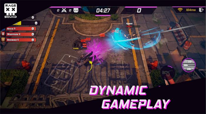 Rage Squad - Game đấu trường MOBA cổ điển với dàn nhân vật độc đáo 1