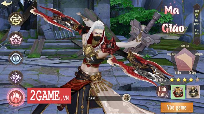 Ngạo Kiếm Vô Song Mobile mang lối chơi của Ỷ Thiên 3D Mobile, hình ảnh giống VLTK Mobile 1