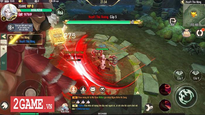 Ngạo Kiếm Vô Song Mobile mang lối chơi của Ỷ Thiên 3D Mobile, hình ảnh giống VLTK Mobile 0