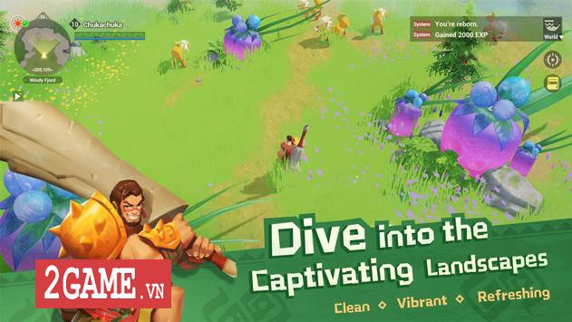Dawn of Isles - Game nhập vai thế giới mở với thiết kế đồ họa độc đáo 1