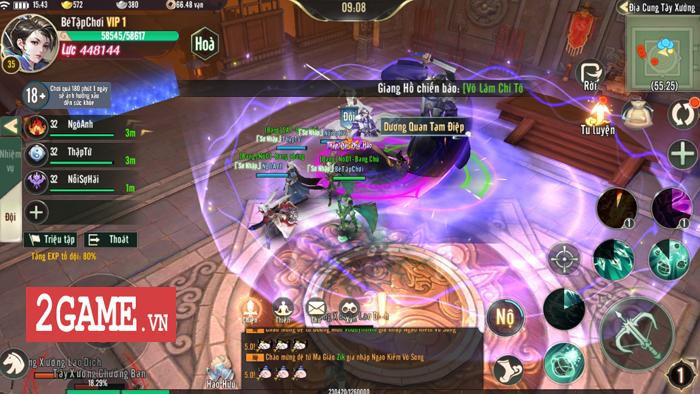 Ngạo Kiếm Vô Song Mobile đang cố đưa những giá trị game kiếm hiệp PC lên di động 3